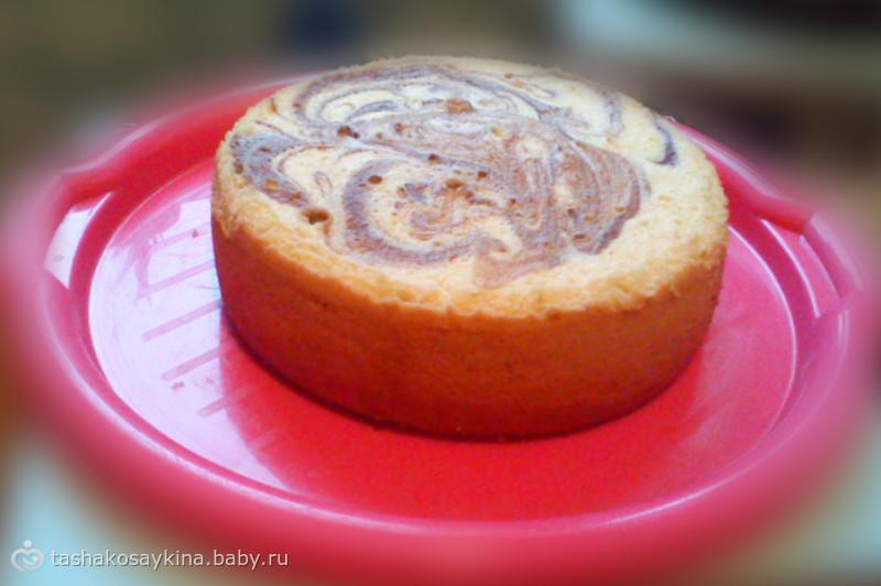 Бисквит в мультиварке быстро и вкусно