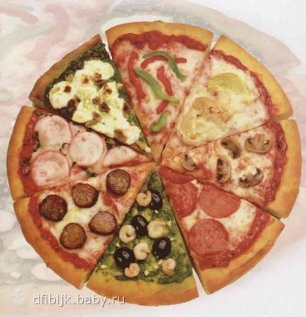 Пицца день рождения рецепты фото