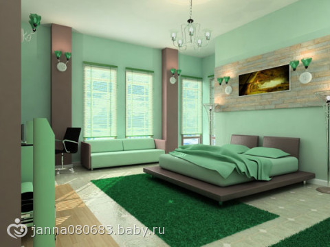цвет стен фото: