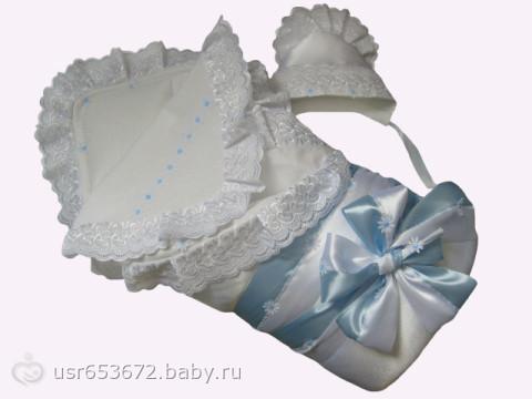 Красивые конверты для новорожденных своими руками