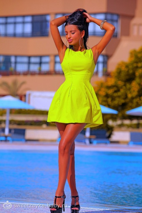 Фото красивые летние короткие платья