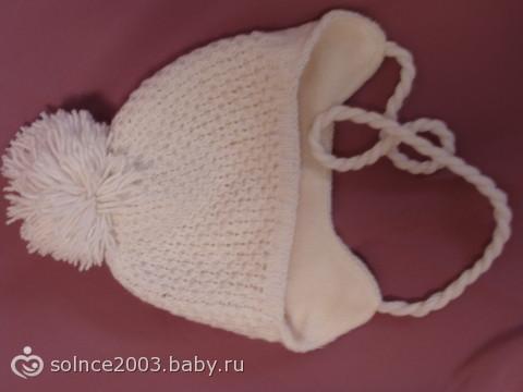схема вязания платья для девочки до года