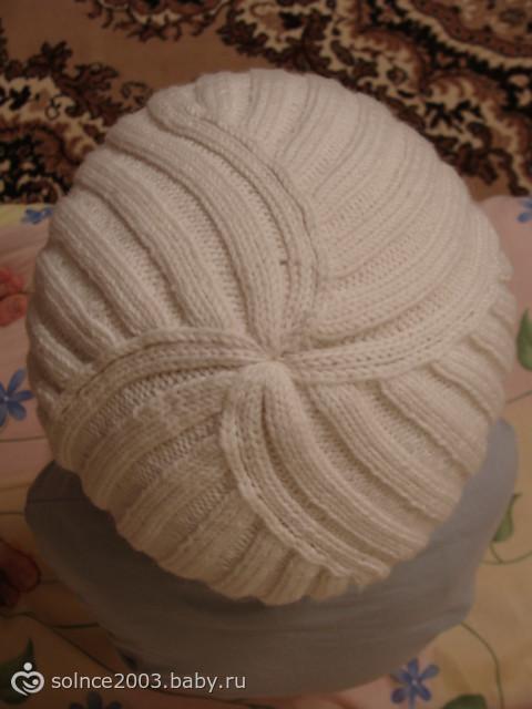 Классическая шапка резинкой