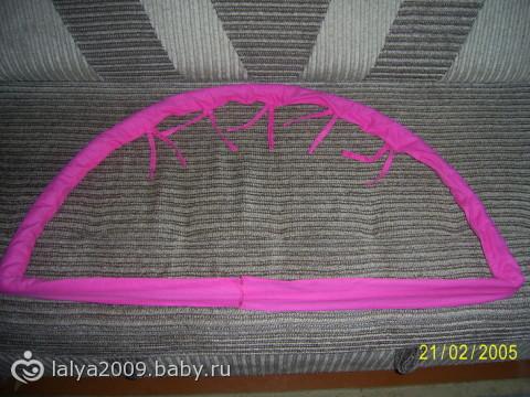 Как сделать дуги для детского коврика