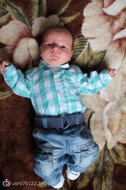 Мой сынулька стих