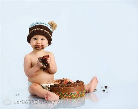 Моя дочка — сладкоежка =)))) - на бэби.ру