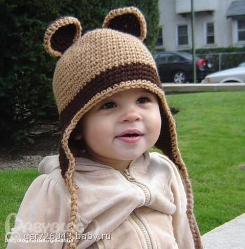 вязание детской шапочки с