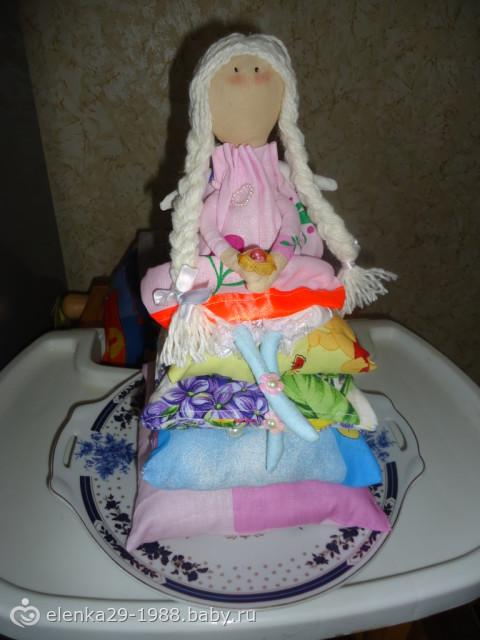 Принцесса на горошине поделка