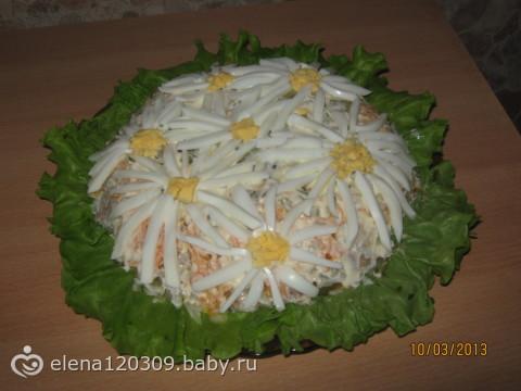 Классные салаты рецепты