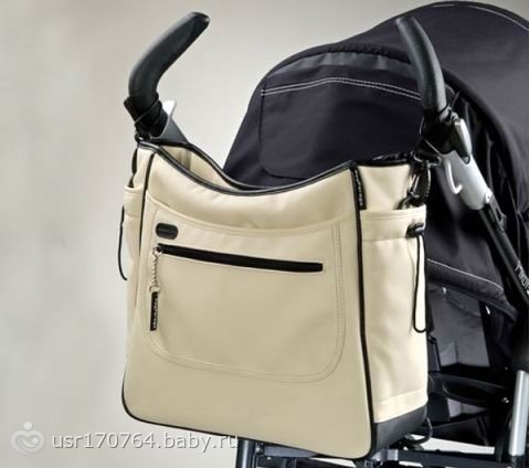 Сумка для коляски borsa peg perego ro56-nm46 (кремовая), пег перего.