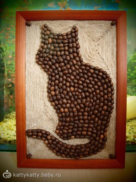 Кот из бутылки и шпагата своими руками 165