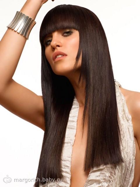 Женские причёски с длинными волосами