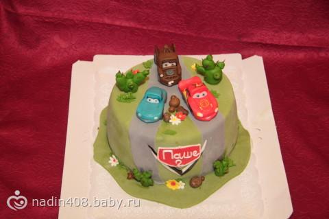 """Торт """"тачки"""", торт тачки своими руками - на бэби.ру"""