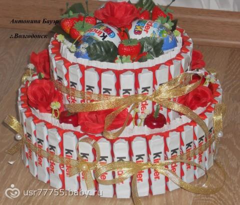 Декоративный тортик фото