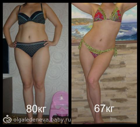 похудела за месяц на 5 кг отзывы