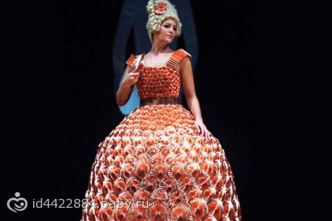 Десятка самых креативных свадебных платьев)), мулатка в свадебном