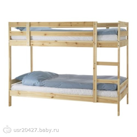 Девочки, заказала 2х-ярусную кровать.