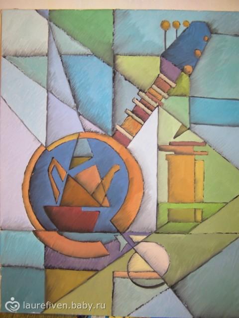 кубизм в живописи: