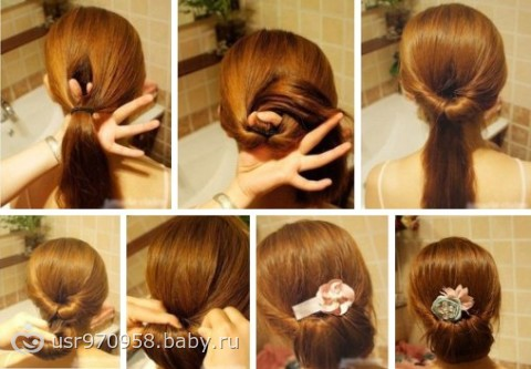 Причёски на работу на каждый день