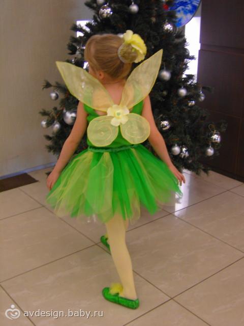 Новогодний костюм для феи своими руками фото