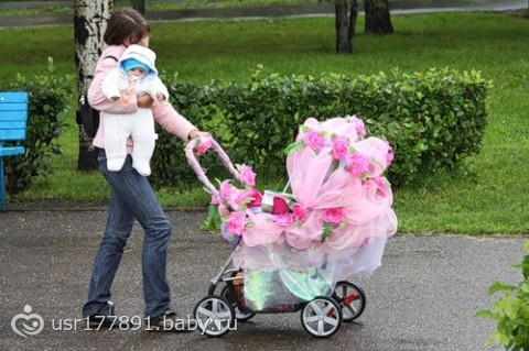 Детская коляска своими руками фото