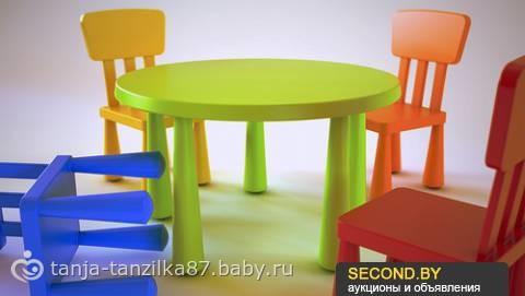 Детская кровать до трех лет