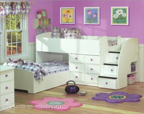 Дизайн детской комнаты для разнополых