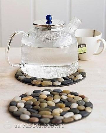 Как сделать подставку под чайник