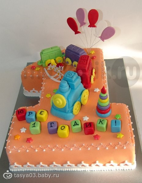 Фото торт двоечка с метрикой