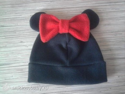 Шьем шапочку из флиса