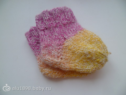Носочки для дочки