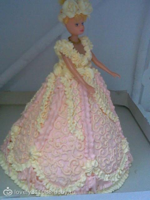 Только учтите одно - для того, чтобы торт держал форму, лучше использовать плотный крем и не слишком...