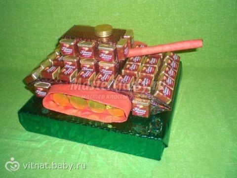 Что подарить на 23 февраля? Пивной танк Подарок