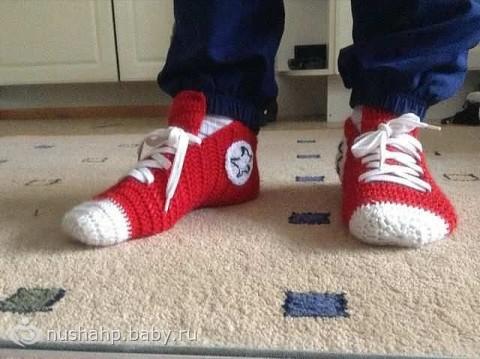 Носки-кеды для взрослых!