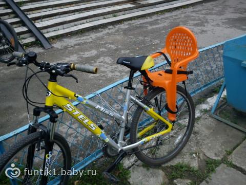 Сидение на велосипед для детей своими руками 59