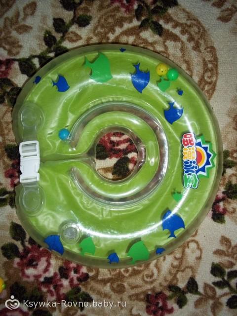 Со скольки месяцев можно ребенка купать в круге?