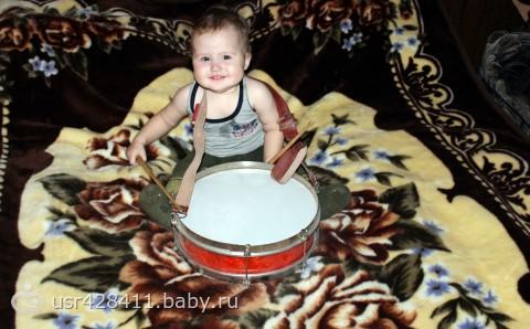 мой маленький барабанщик