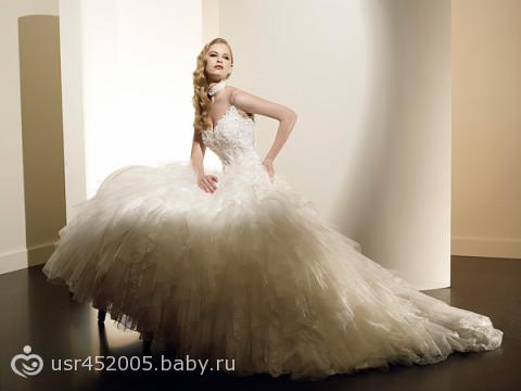 Комментарий: свадебные платья больших