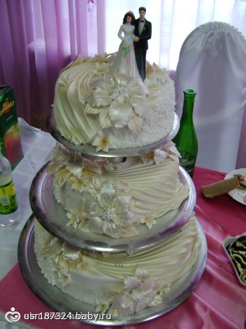 Конкурс на свадебный торт