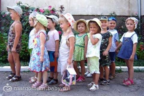 В детский сад с 3 лет