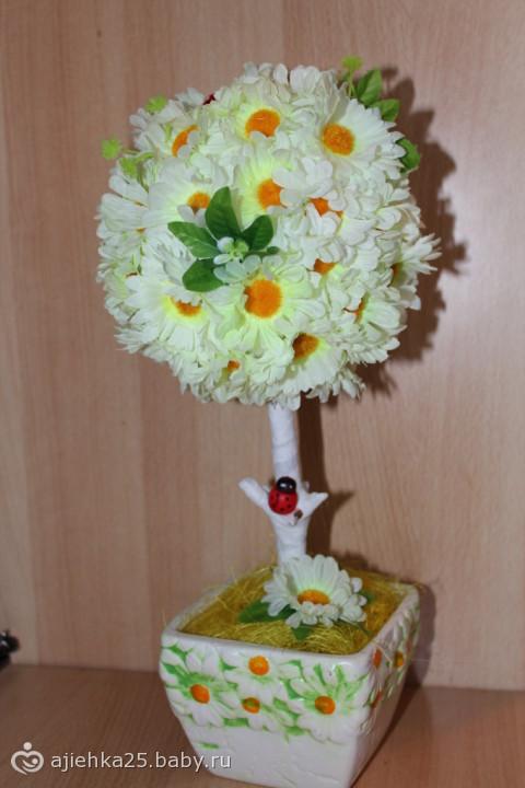 бокалы и дерево счастья