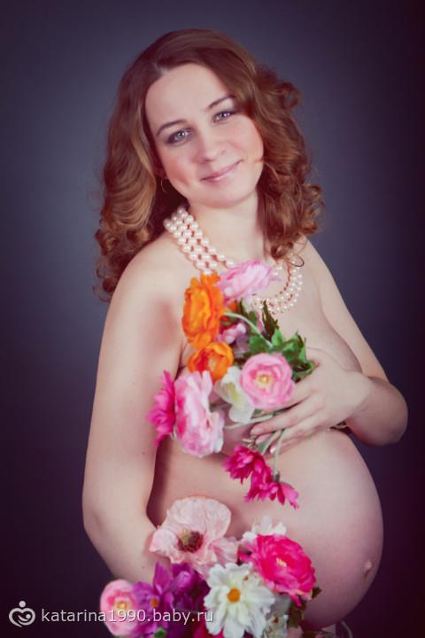 Наша пузатая фотосессия)))