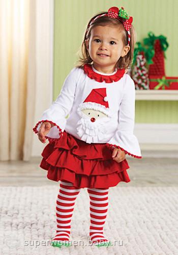 Новогодние костюмы для девочки 2-3 года