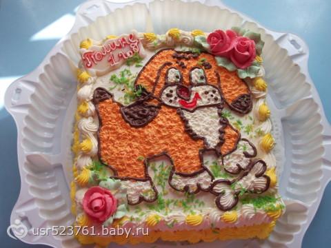 Торт на 1 годик для всех