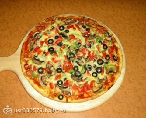 Пицца своими руками дома