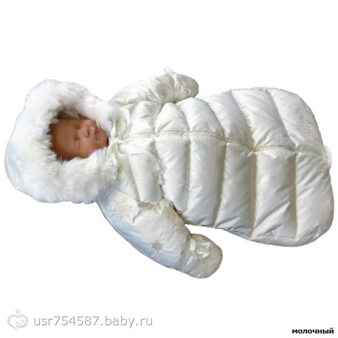 Верхняя одежда для новорожденного в