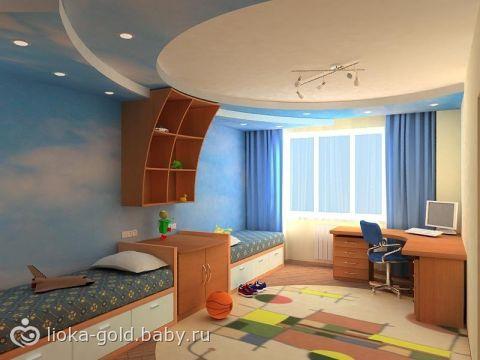Как сделать ремонт в детской комнате для мальчика