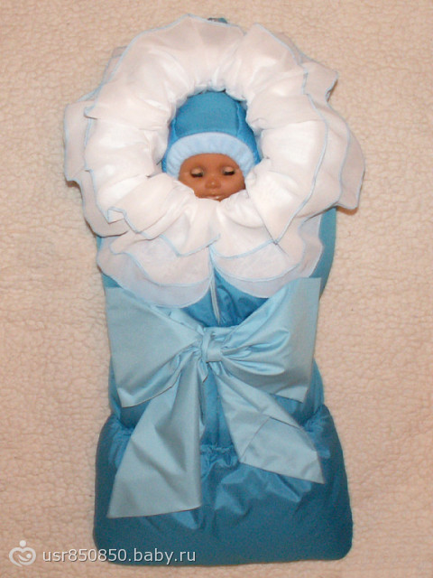 Одеяло на выписку из роддома зимний своими руками