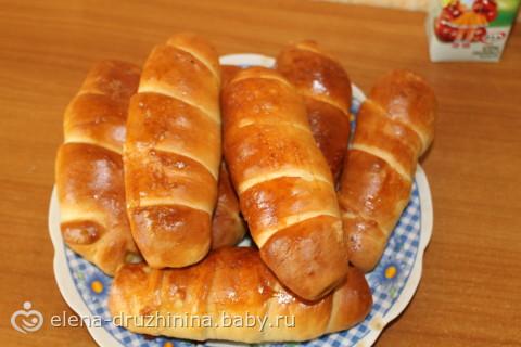 Печеные сосиски в тесте рецепт с фото