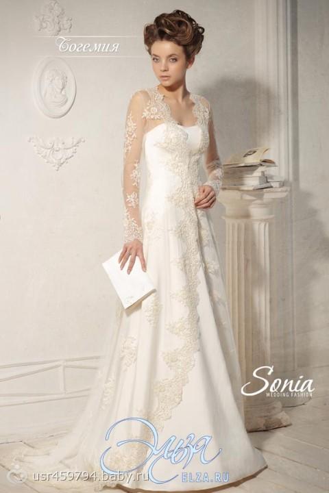 Свадебное платье с рукавом, платье на свадьбу подруги в